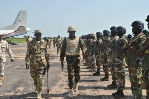 MNJTF BOMBS ISWAP TERRORISTS NEAR LAKE CHAD